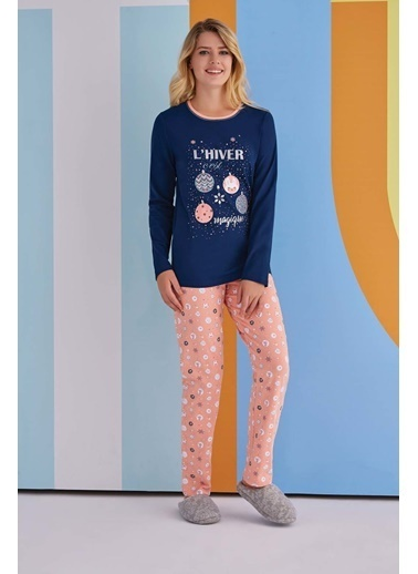 Roly Poly Rolypoly Magique Kadın Pijama Takımı Lacivert
